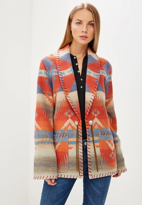 женское пальто polo ralph lauren, разноцветное