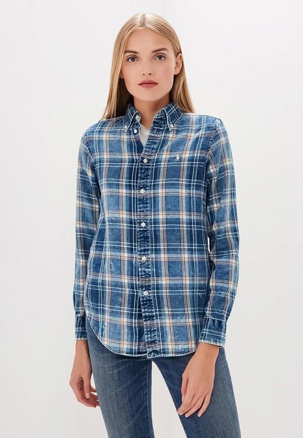 Рубашка Polo Ralph Lauren Polo Ralph Lauren PO006EWCAJS9 dave hill dh1011jw01 рубашка секция рубашка polo синий 48 ярдов