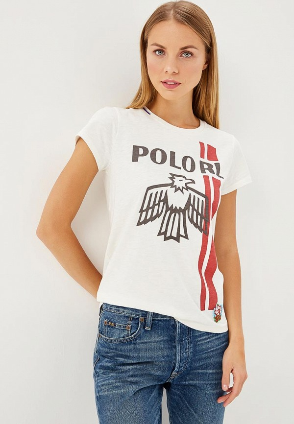 Футболка Polo Ralph Lauren Polo Ralph Lauren PO006EWCAJU2 футболка polo ralph lauren polo ralph lauren po006emyza61