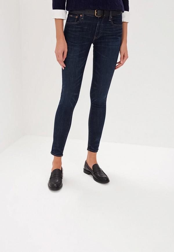 женский джинсовые комбинезон polo ralph lauren, синий