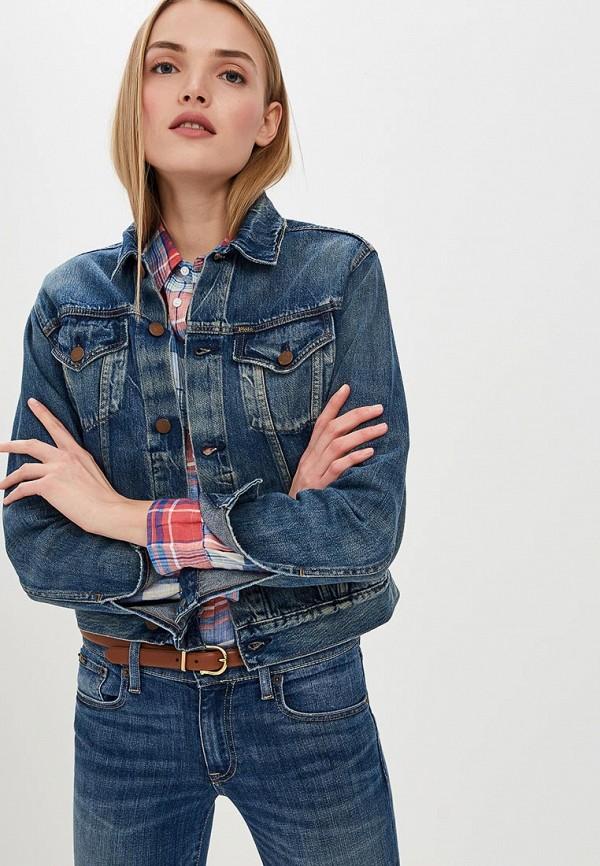 Куртка джинсовая Polo Ralph Lauren Polo Ralph Lauren PO006EWDMEQ2 куртка кожаная lauren ralph lauren lauren ralph lauren la079ewbxfq4