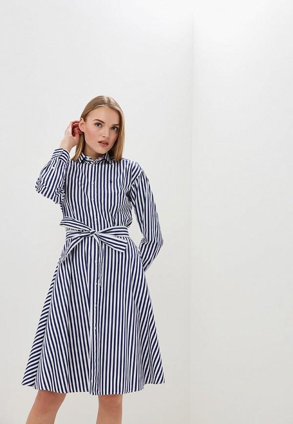 Купить Платье Polo Ralph Lauren, po006ewdmes4, синий, Весна-лето 2019