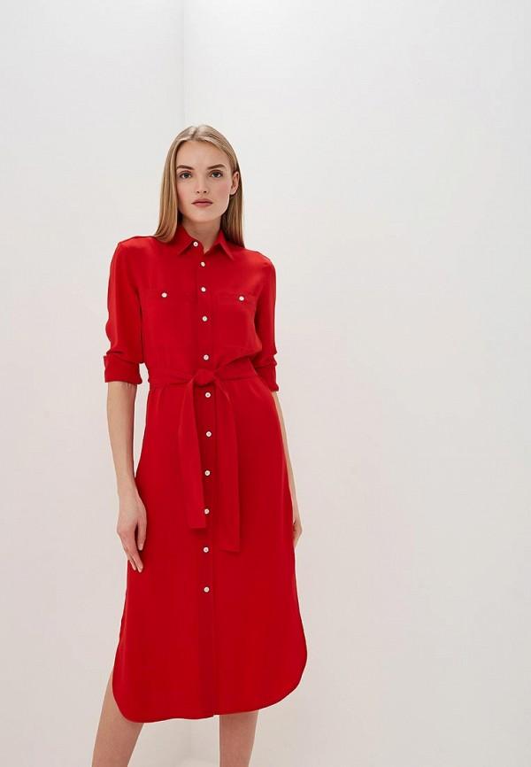 Платье Polo Ralph Lauren Polo Ralph Lauren PO006EWDMET2 ralph lauren polo double black