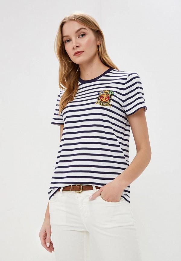 Футболка Polo Ralph Lauren Polo Ralph Lauren PO006EWDMET6 футболка polo ralph lauren polo ralph lauren po006emdmco3