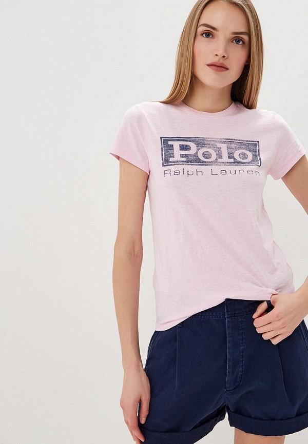 Футболка Polo Ralph Lauren Polo Ralph Lauren PO006EWDMEU0 цена