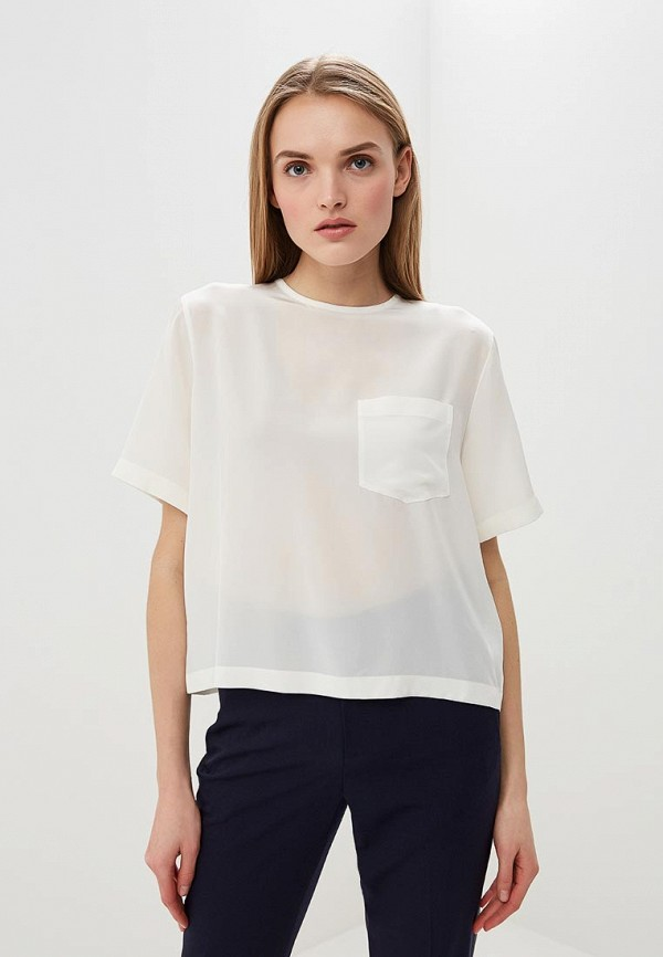женская блузка polo ralph lauren, белая