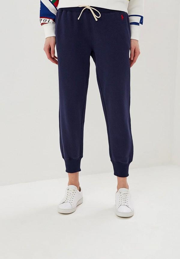 женские спортивные спортивные брюки polo ralph lauren, синие