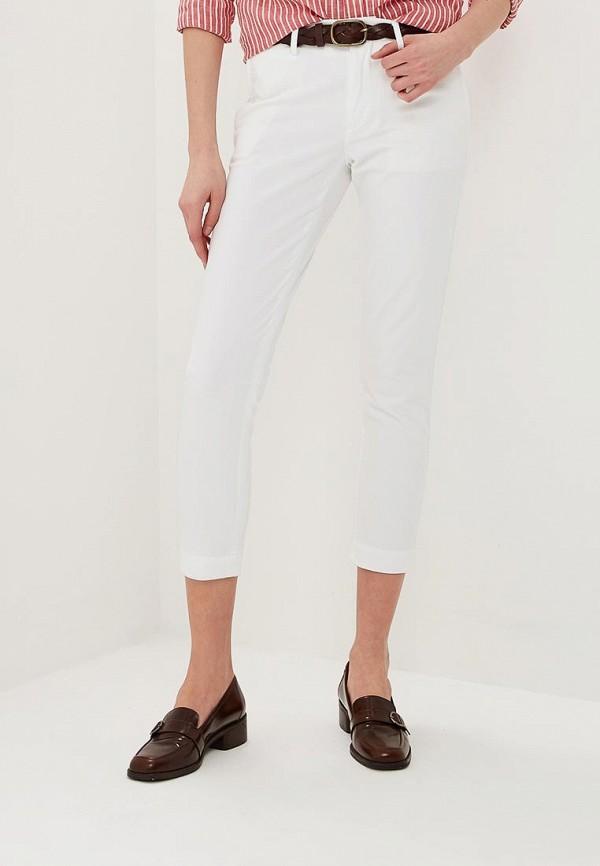 женские повседневные брюки polo ralph lauren, белые