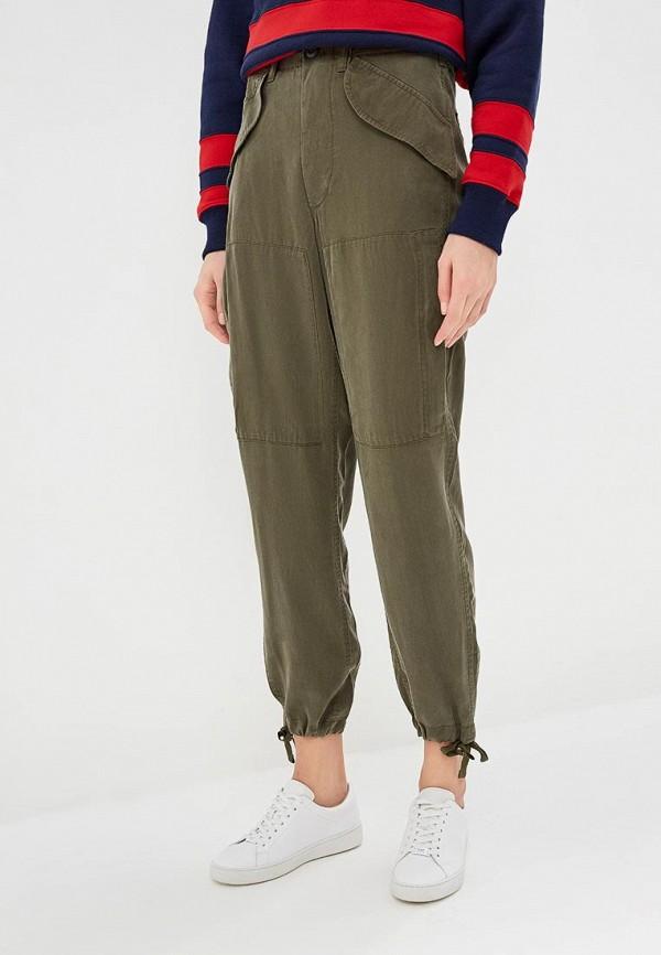 женские повседневные брюки polo ralph lauren, хаки