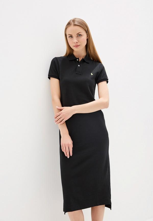 Купить Платье Polo Ralph Lauren, po006eweybq4, черный, Весна-лето 2019
