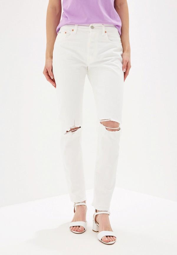 женские прямые джинсы polo ralph lauren, белые