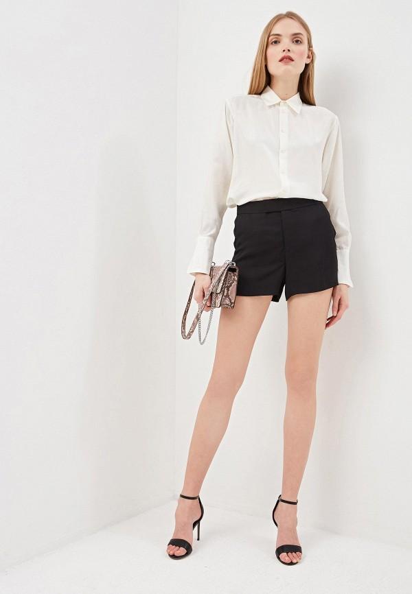 Фото 2 - женские шорты Polo Ralph Lauren черного цвета