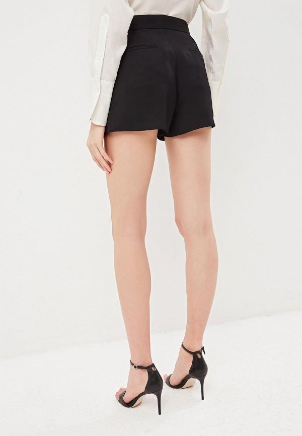 Фото 3 - женские шорты Polo Ralph Lauren черного цвета