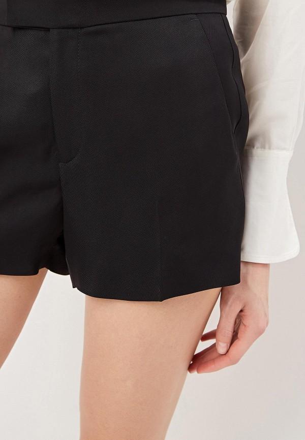 Фото 4 - женские шорты Polo Ralph Lauren черного цвета