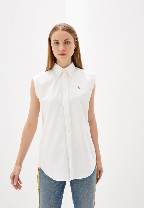 Блуза Polo Ralph Lauren Polo Ralph Lauren PO006EWEYBX4 блуза polo ralph lauren polo ralph lauren po006ewcahd9