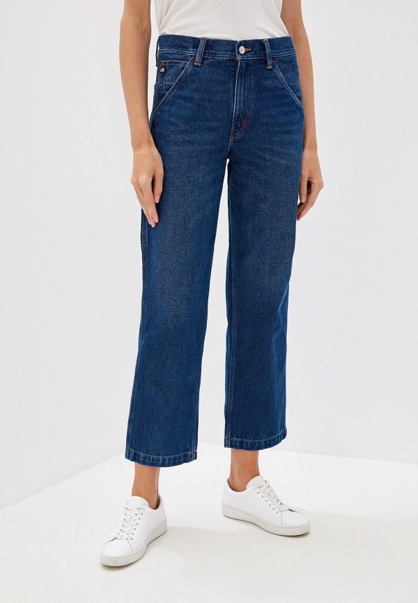 женские джинсы клеш polo ralph lauren, синие