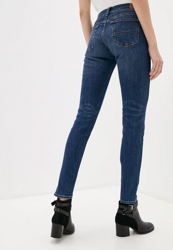 Фото 3 - женские джинсы Polo Ralph Lauren синего цвета