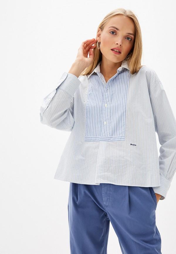 Блуза Polo Ralph Lauren Polo Ralph Lauren PO006EWFNGZ7 все цены