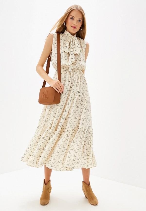 Платье Polo Ralph Lauren Polo Ralph Lauren PO006EWFNHK4 цена