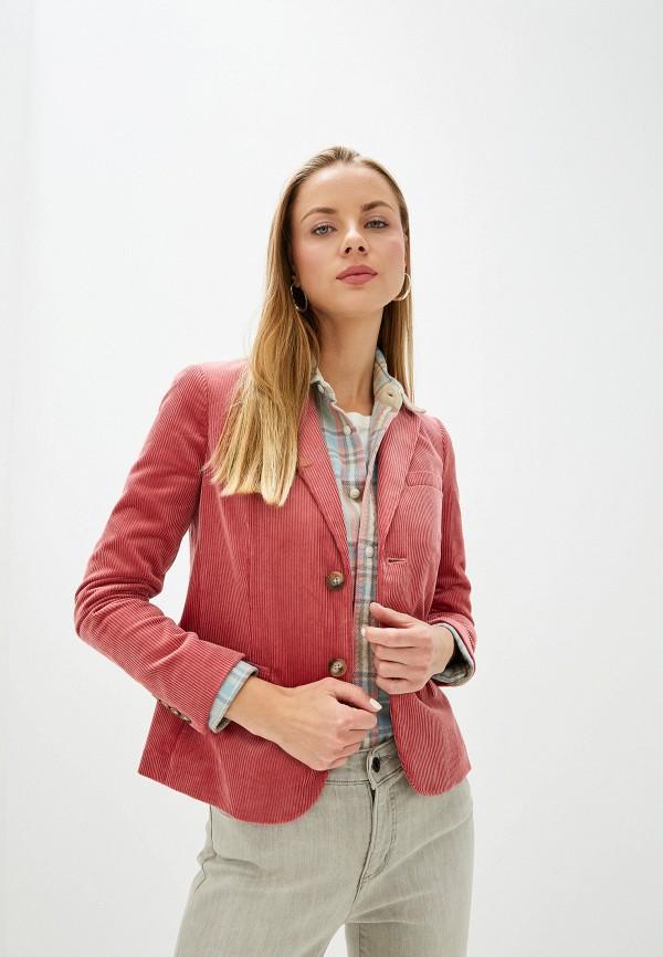 женский пиджак polo ralph lauren, розовый