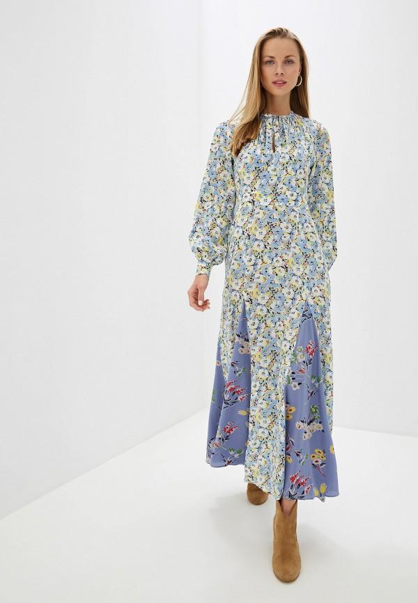 женское повседневные платье polo ralph lauren, разноцветное