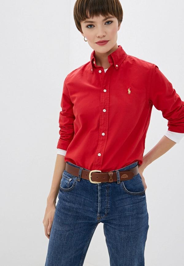 Рубашка Polo Ralph Lauren Polo Ralph Lauren PO006EWGGMI4 рубашка polo ralph lauren polo ralph lauren po006embxmp0