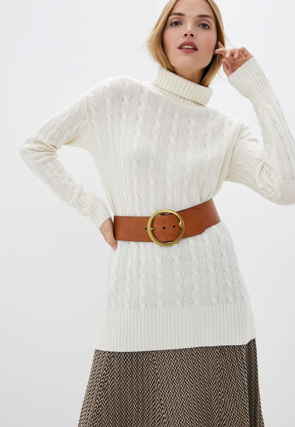 женский свитер polo ralph lauren, белый