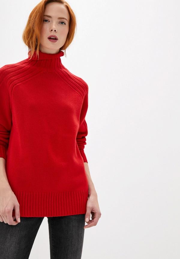 женский свитер polo ralph lauren, красный
