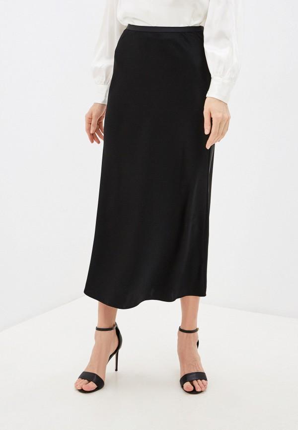женская юбка polo ralph lauren, черная