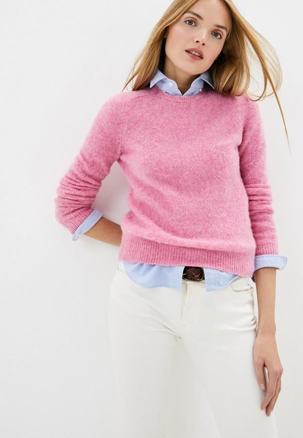 женский джемпер polo ralph lauren, розовый