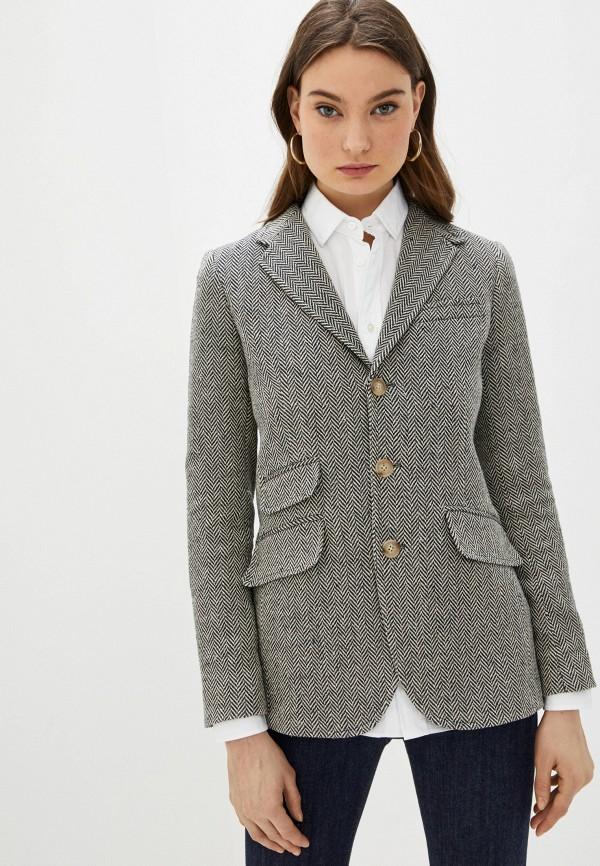 женский пиджак polo ralph lauren, бежевый