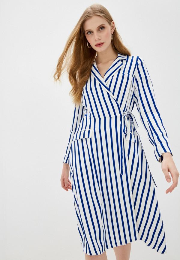 женское платье с запахом polo ralph lauren, белое