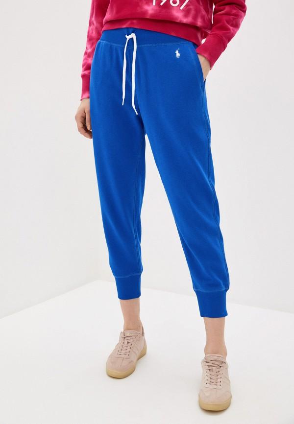 женские спортивные брюки polo ralph lauren, синие