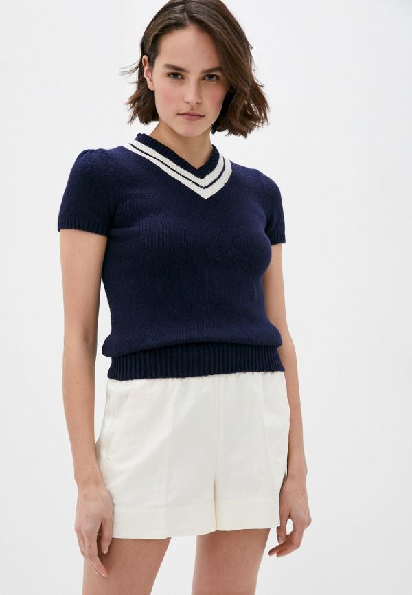 женский пуловер polo ralph lauren, синий