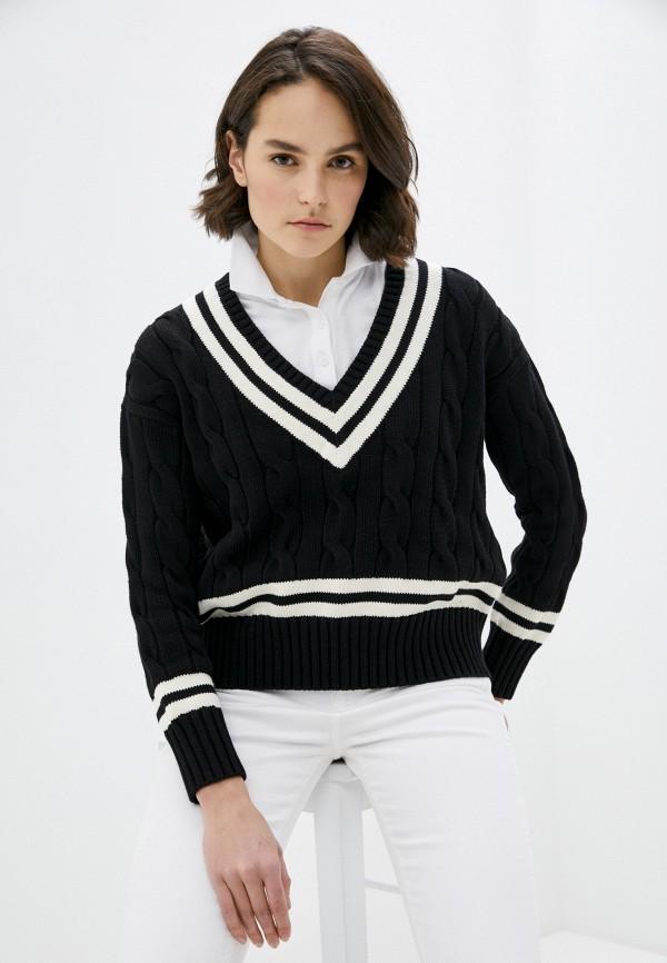 женский пуловер polo ralph lauren, черный