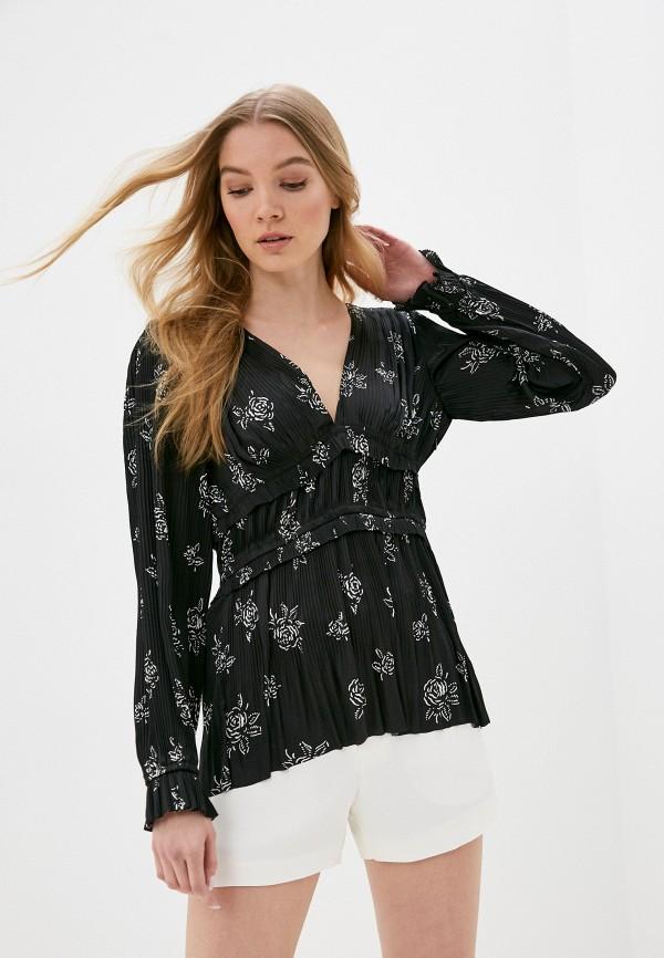 женская блузка polo ralph lauren, черная