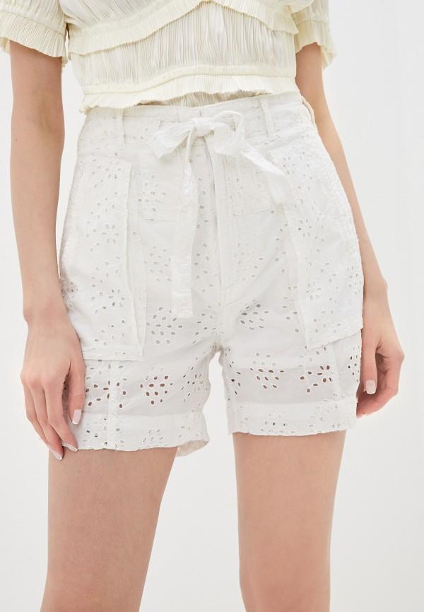 женские повседневные шорты polo ralph lauren, белые