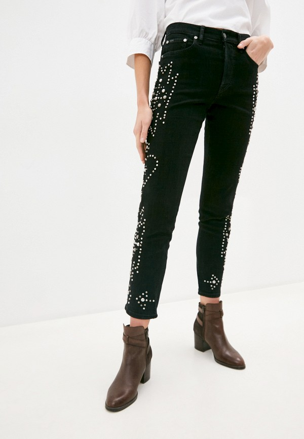 женские джинсы polo ralph lauren, черные
