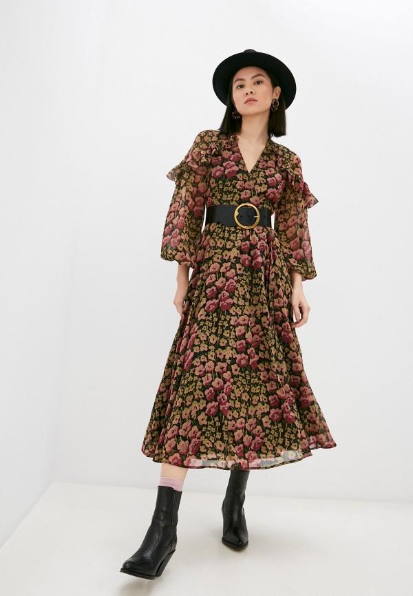 женское платье polo ralph lauren, разноцветное