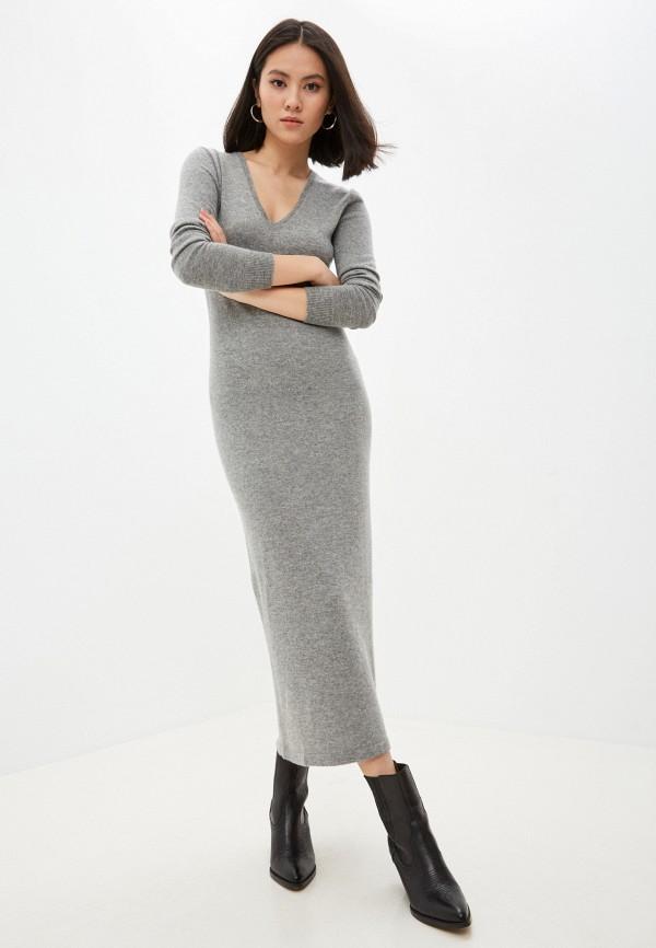 женское платье polo ralph lauren, серое