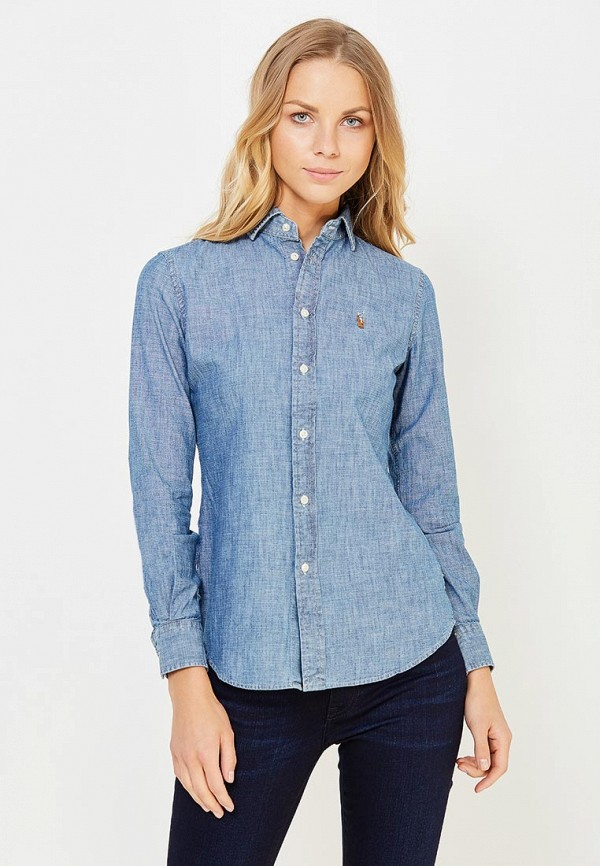 Рубашка джинсовая Polo Ralph Lauren Polo Ralph Lauren PO006EWUIL27 рубашка polo ralph lauren polo ralph lauren po006embxmp0