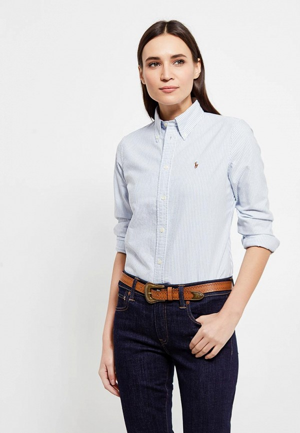 Рубашка Polo Ralph Lauren Polo Ralph Lauren PO006EWUIL28 слипоны polo ralph lauren polo ralph lauren po006abeeue1