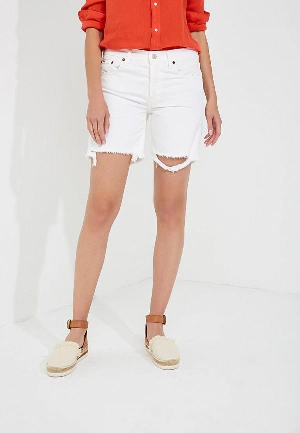 Шорты джинсовые Polo Ralph Lauren Polo Ralph Lauren PO006EWYYU83 кеды polo ralph lauren polo ralph lauren po006ampzv77