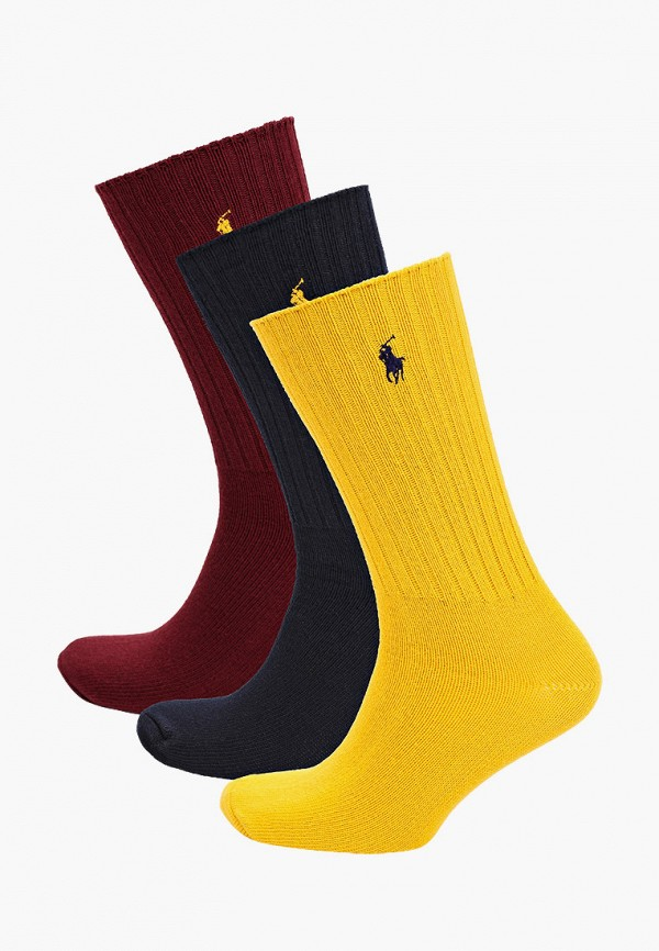 мужские носки polo ralph lauren, разноцветные