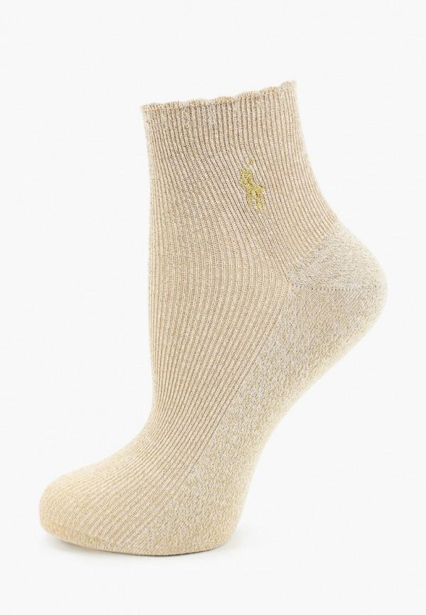 женские носки polo ralph lauren, золотые