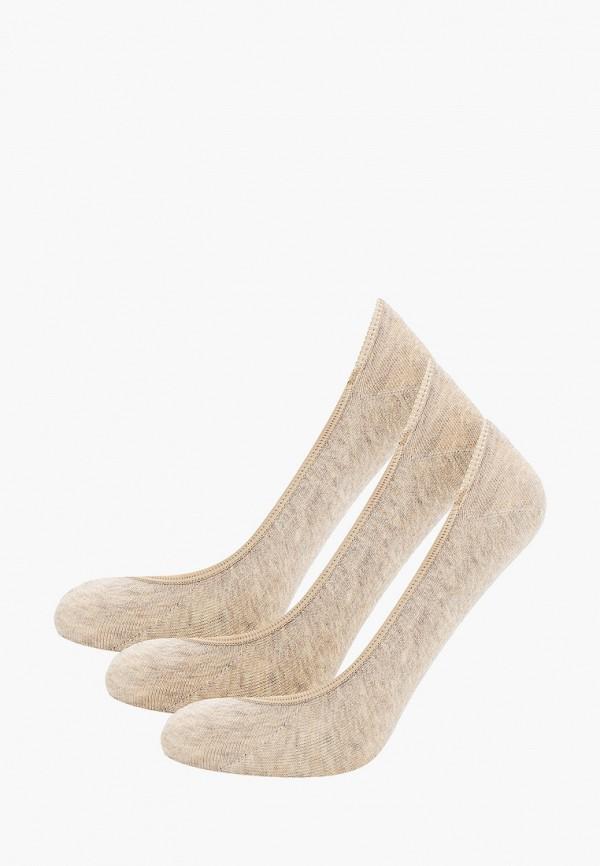 женские носки polo ralph lauren, бежевые