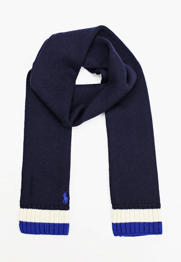 шарф polo ralph lauren для мальчика, синий
