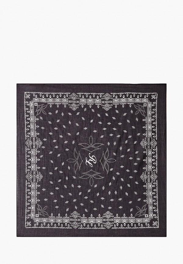 женский платок polo ralph lauren, черный