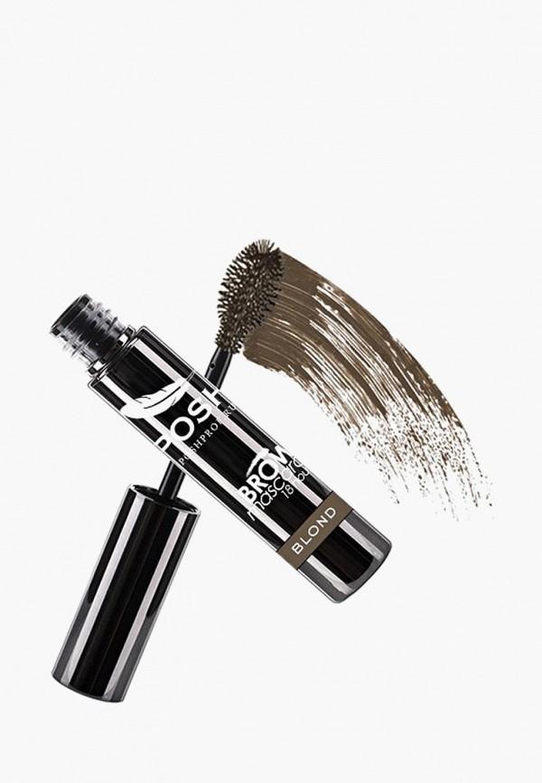 Купить Тушь для бровей Posh, WoW Brow Mascara с укладывающим и фиксирующим эффектом 18 часов Устойчивости, тон Блонд-Ру, po021lwcwge7, коричневый, Весна-лето 2019