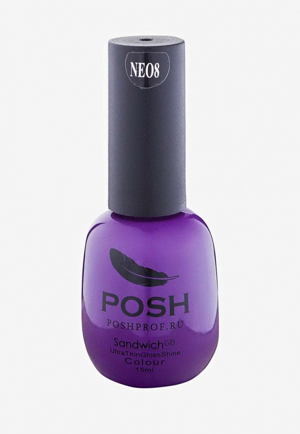 лак для ногтей posh, фиолетовый